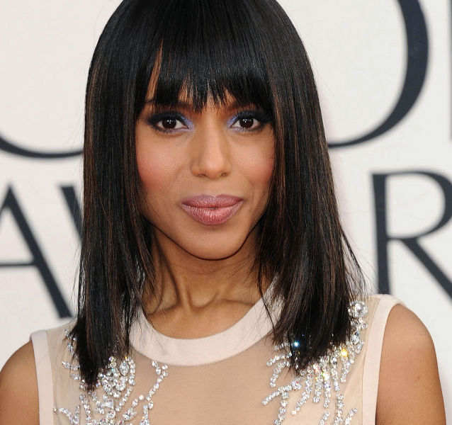 KERRY WASHINGTON at 70th Annual Golden Globe Awards in Beverly Hills