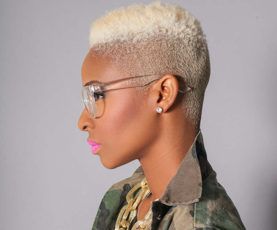 Get The Look A Blonde Natural High Top Fade Video Un Ruly