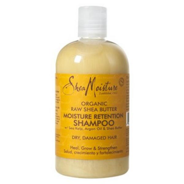 product review: shea moisture's raw shea butter moisture retention shampoo