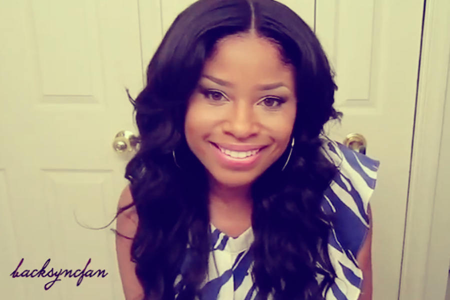how to: blending your lace front wig with a middle part (video)