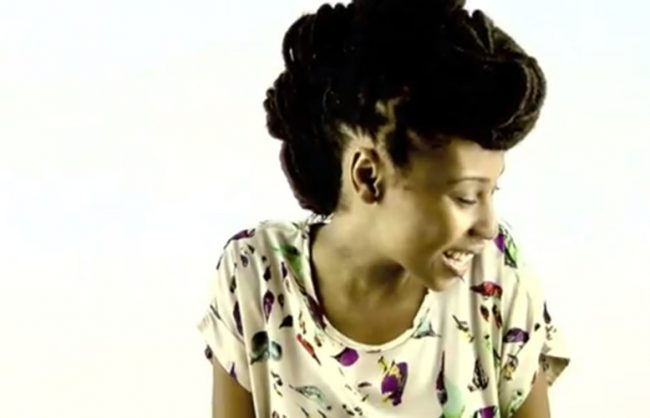get the look: a bun faux hawk w/locks (video)