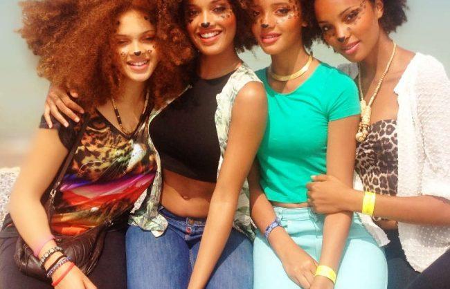 on the street: les filles naturelles