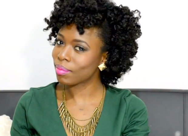 the bantu knot for 4c hair video