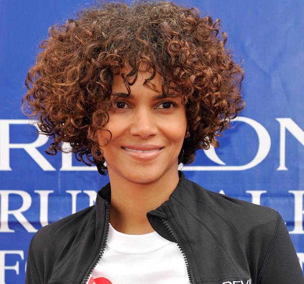 a curly bob