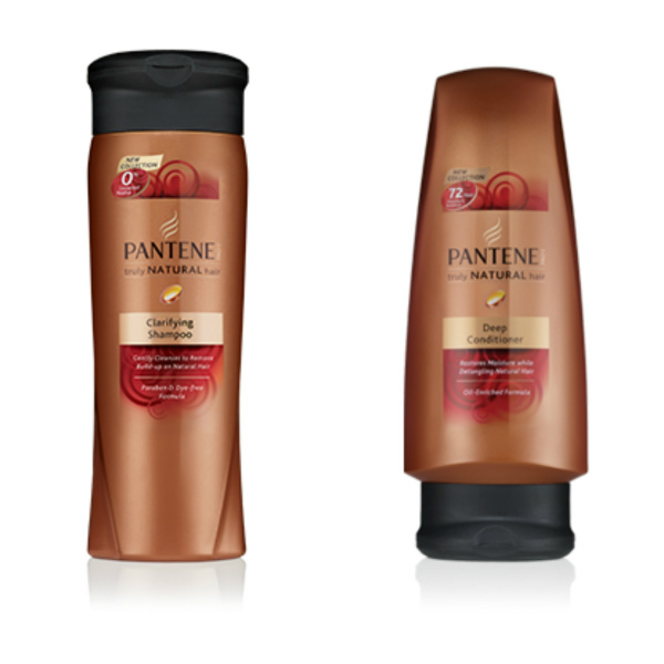 product review: pantene pro v truly natural clarifying shampoo & deep conditioner