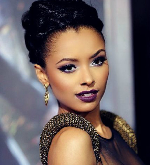 tv leading ladies: kat graham's up do
