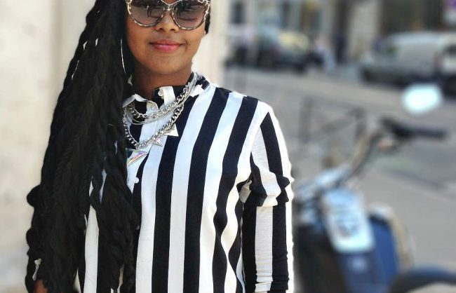 on the street, paris: vanessa's twists