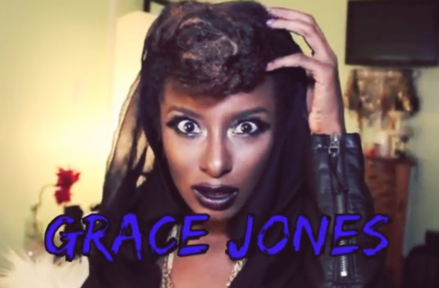 hair-o-ween: grace jones (video)