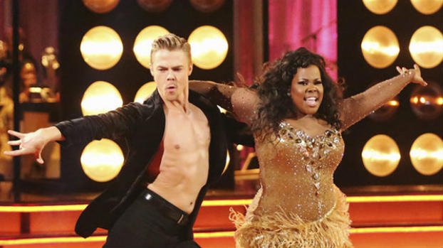 "amber riley wins ""dancing with the stars"" (video)"
