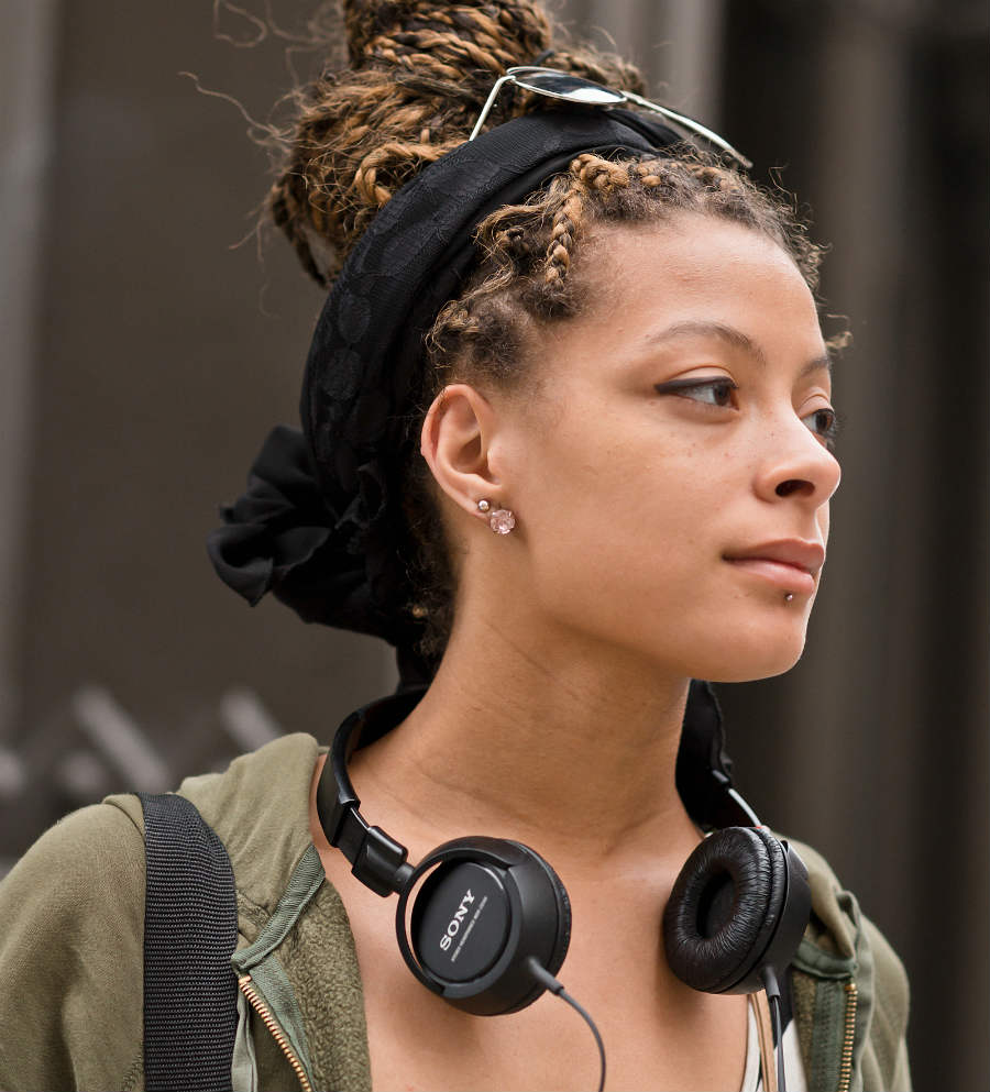 on the street: zoe, a braided transition