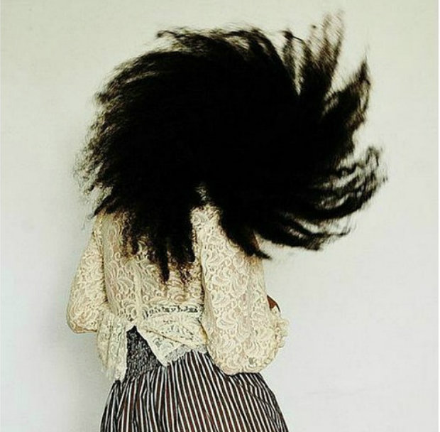 Combing Natural Hair