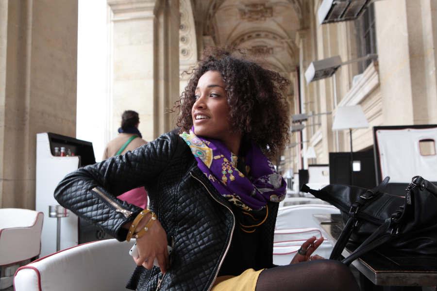 on the street paris: aude bidé