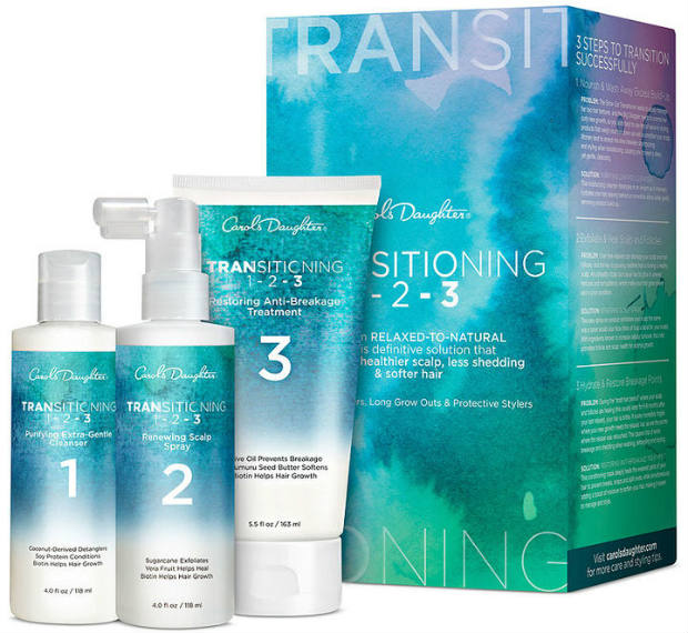 product review: carol's daughter transitioning kit