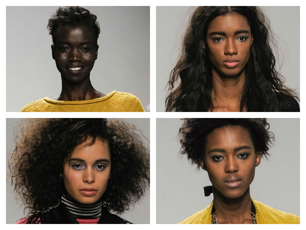 runway hair: messy chic at any length