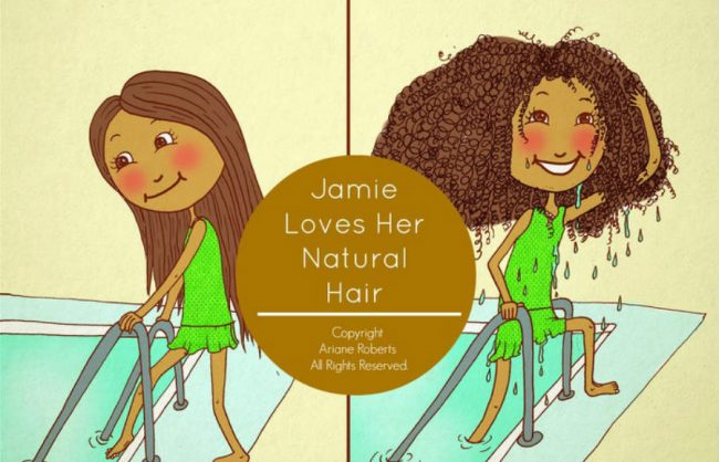 project to support: jamie loves her natural hair