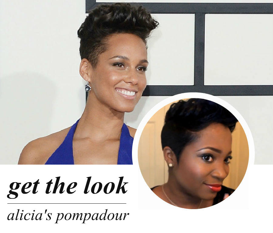 best of award season: alicia's pompadour (video)
