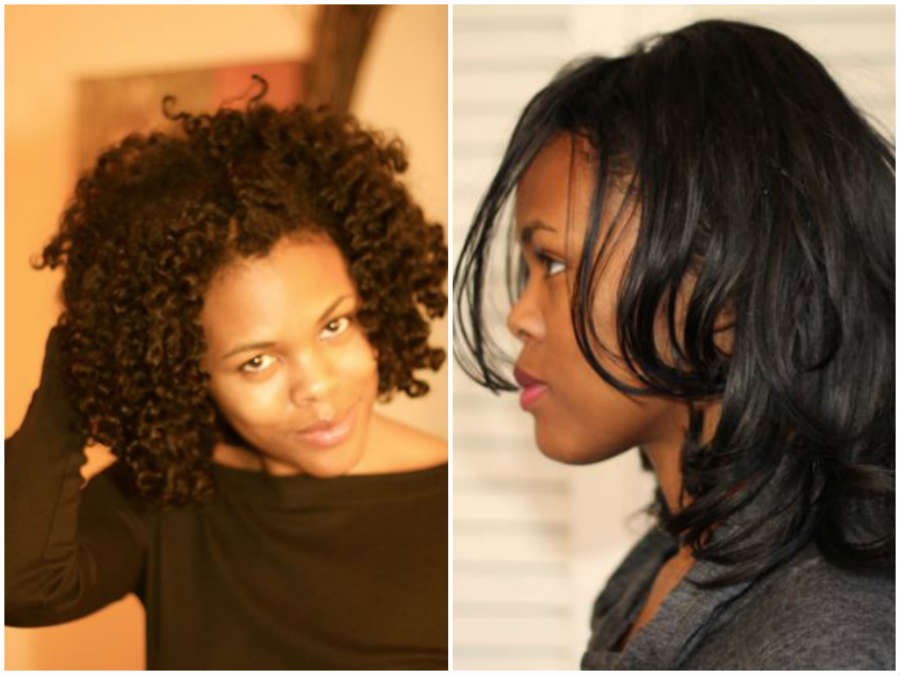 straight & curly: nikki walton