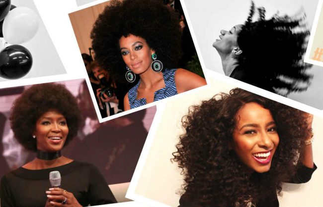 Trending: Kinky, Curly Weaves and Wigs