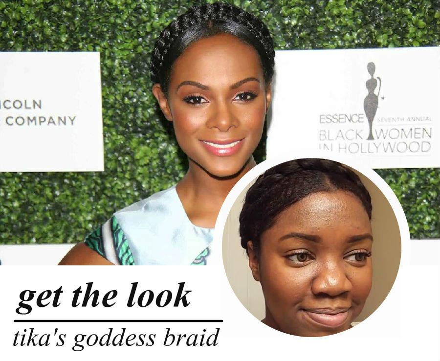 best of award season: tika's goddess braid (video)