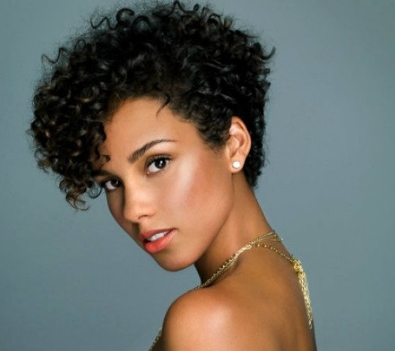 hair styles for black women with long hair trending the tapered twa un ruly 2156 | alicia keyes tapered afro twa 563x500