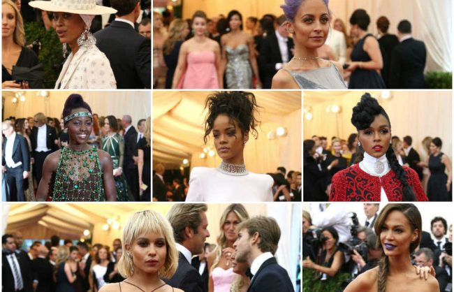 met gala 2014, the hair that was there