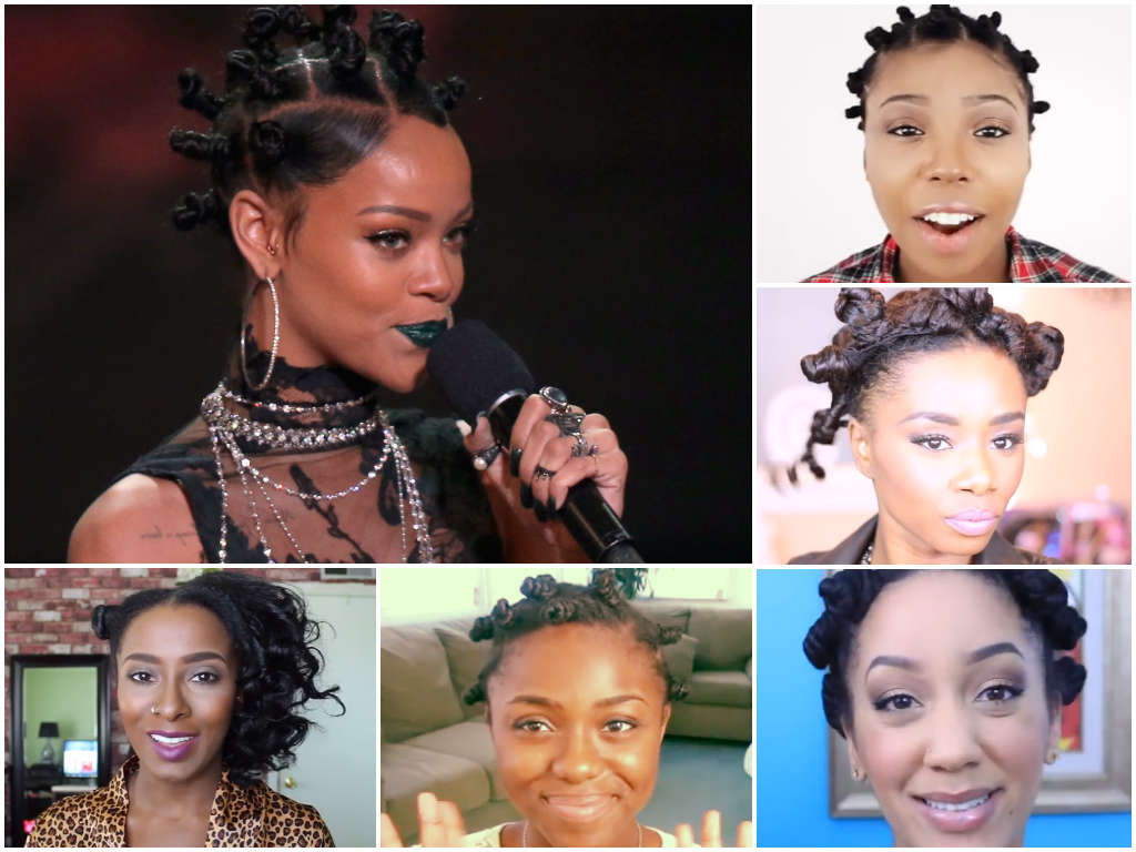 Five Ways to do a Bantu Knot Out (Videos)
