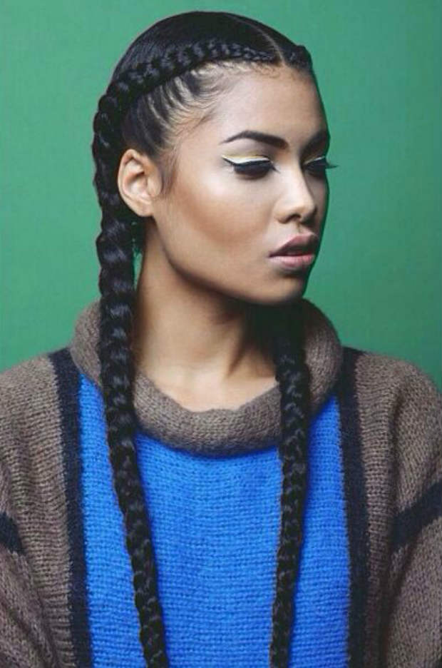 Stand Out Style Double French Braids Video Un Ruly