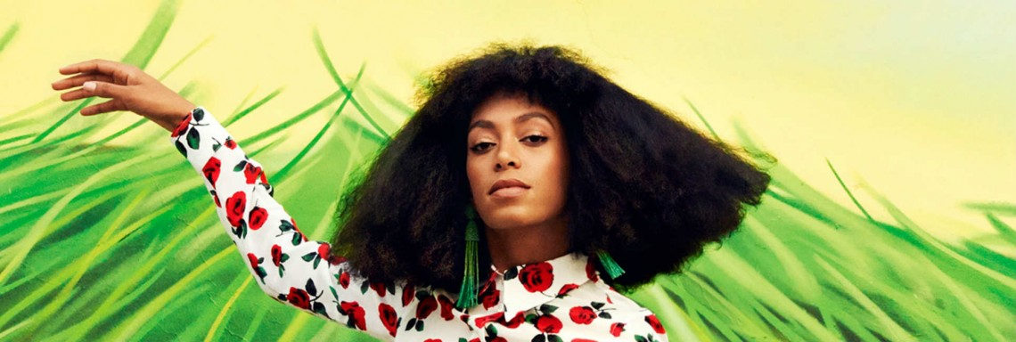 get solange's pop-out look (video)