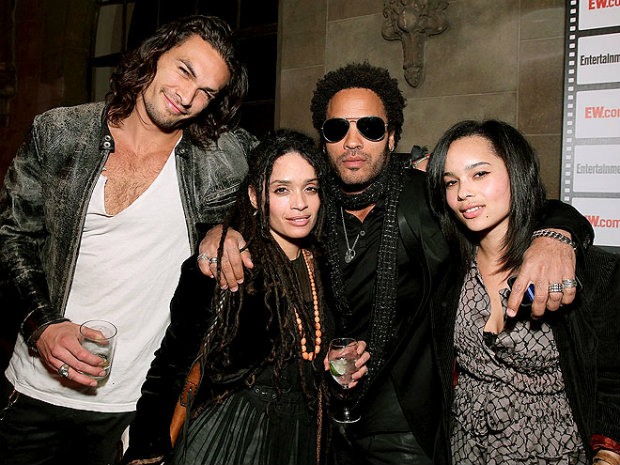 Photo of Zoë Kravitz & her Sister  Lola Iolani Momoa