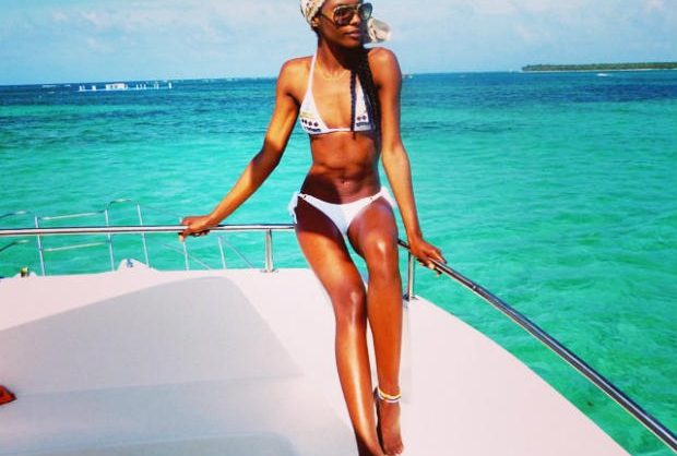 boat babe #hairspiration: sharam diniz