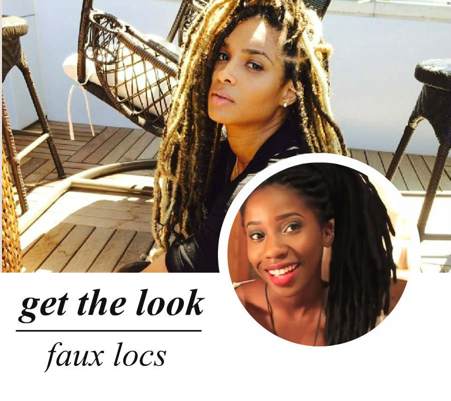 celeb-inspired: ciara's faux locs (video)