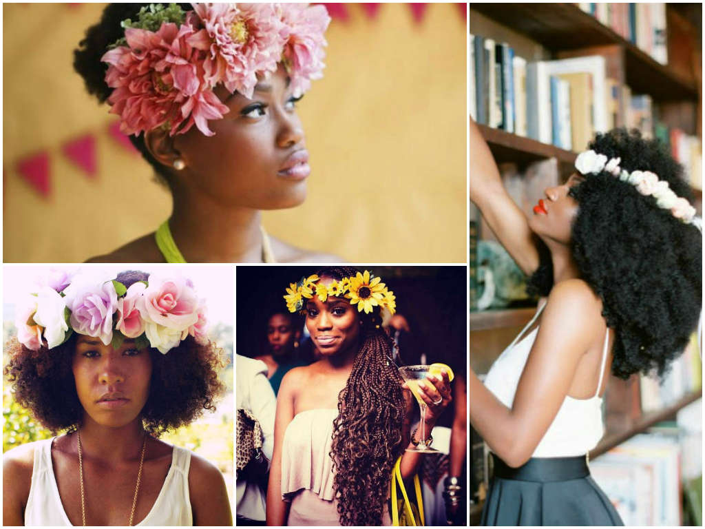 trending: the flower crown
