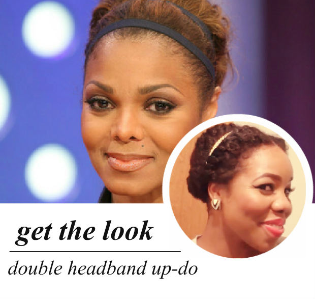 celeb-inspired: janet jackson's bardot bouffant & headband (video)