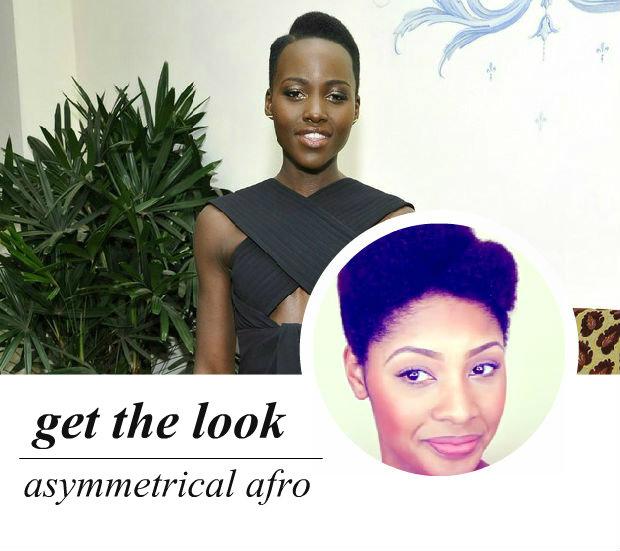 celeb-inspired: lupita's asymmetrical afro (video)