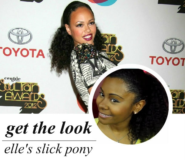 celeb-inspired: elle varner's pony tail (video)