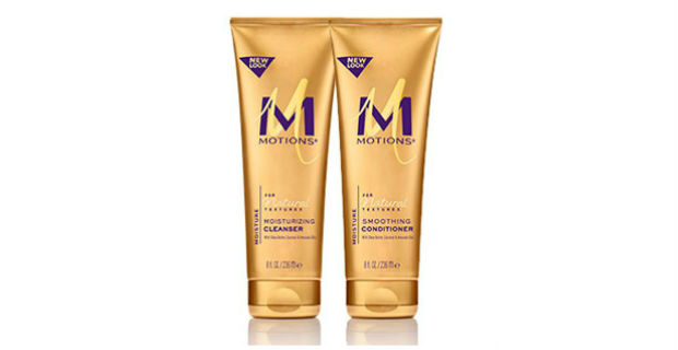 product review: motions for natural textures – moisturizing cleanser & smoothing conditioner