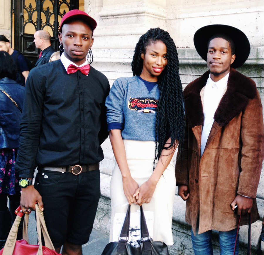 on the scene: paris fashion week #tbt