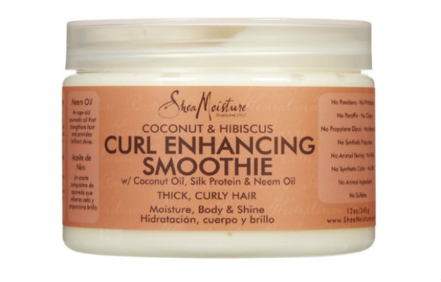 product review: shea moisture's coconut & hibiscus curl enhancing smoothie