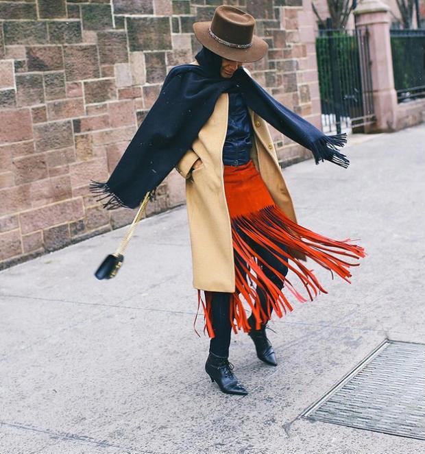 winter #hairspiration: tamu's wide brim hat