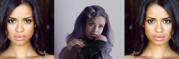 GuguMbathaRaw_Hair_BlackHair_Purple_Lavender_LowLights_StraightHair_SoftCurls_PinCurl_Retro _Lob