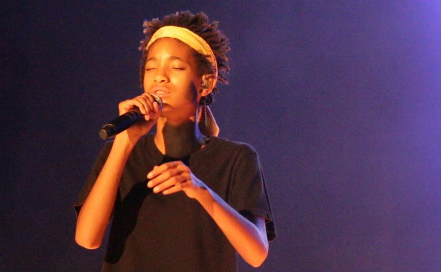 Jaden & Willow Smith Perform at Afropunk Paris