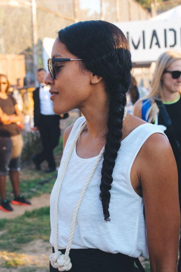 AfroPunk2015_BlackHair_Natural_SideBraid_Long