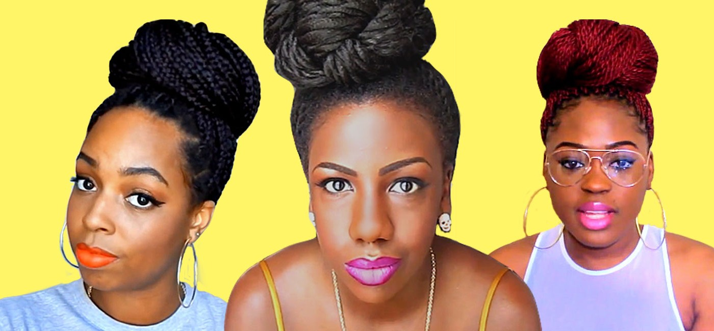 Crochet Box Braids In A Bun : 11 Ways to Style Crochet Marley/Havana Twists (Video)