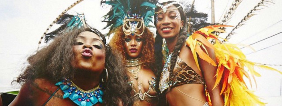 Grammin': Rihanna Goes to Carnival, Vashtie Buys a Watch, Solange Wears a Hat