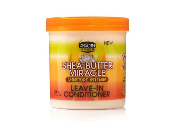 African Pride's Shea Butter Miracle Leave-in Conditioner