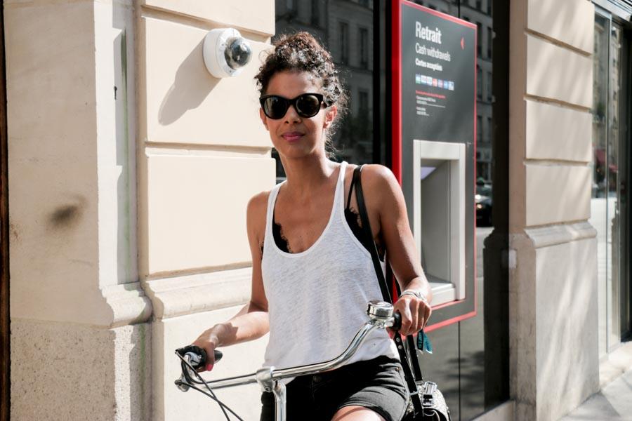 On the Street, Paris: A Care-free Bun