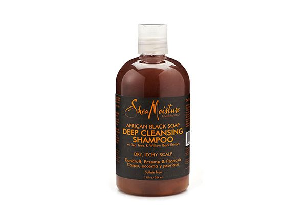 Shea Moisture's African Black Soap Deep Cleansing Shampoo
