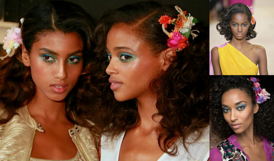 Black_Hair_Imaan_Hammam_TamiWilliams_Anais_Mali_Aya_Jones_Diane_Von_Furstenberg_Pin_Curls_Side_Swept