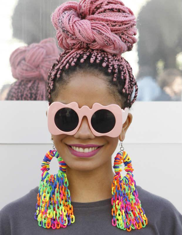 box braid color ideas pink