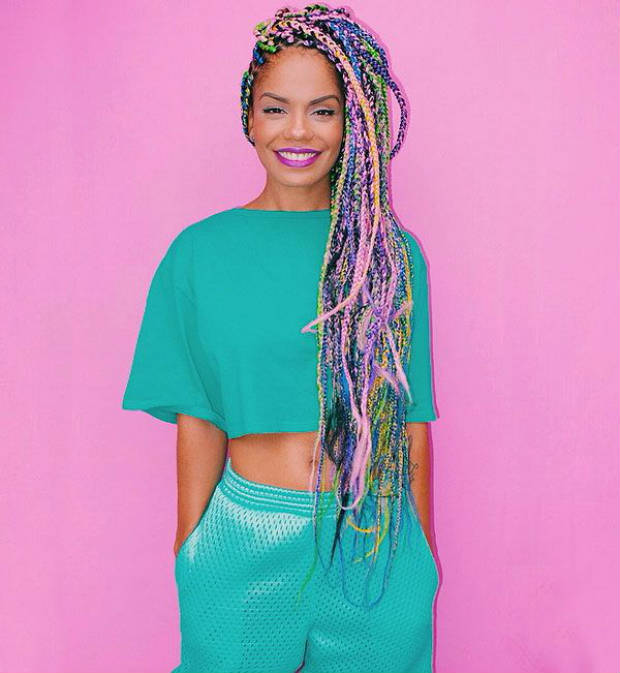 Seven Box Braid Color Ideas We Dare You To Try Un Ruly